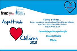 Course Image Aspettando Children 2021 - Dermatologia pediatrica per immagini