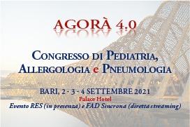 Course Image AGORA' 4.0 - CONGRESSO DI PEDIATRIA, ALLERGOLOGIA E PNEUMOLOGIA - CONGRESSO REGIONALE SIPO