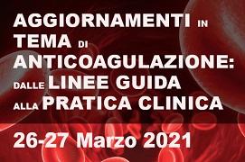 Course Image Aggiornamenti in tema di anticoagulazione: dalle linee guida alla pratica clinica