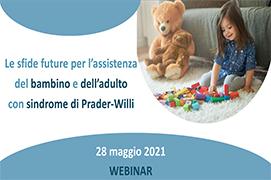 Course Image Le sfide future per l'assistenza del bambino e dell'adulto con sindrome di Prader-Willi