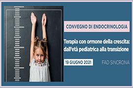 Course Image TERAPIA CON ORMONE DELLA CRESCITA: DALL'ETA' PEDIATRICA ALLA TRANSIZIONE