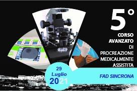 Course Image 5° CORSO AVANZATO DI PROCREAZIONE MEDICALMENTE ASSISTITA