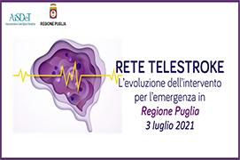 Course Image RETE TELESTROKE. L'evoluzione dell'intervento per l'emergenza in Regione Puglia