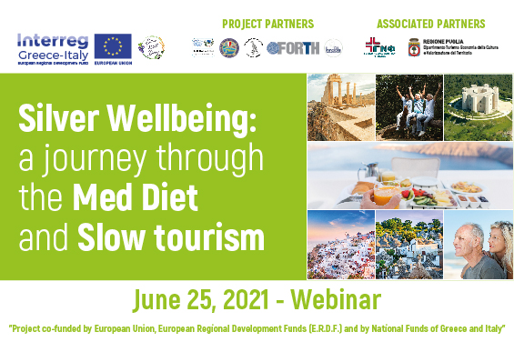 Course Image SILVER WELLBEING: A JOURNEY THROUGH THE MED DIET AND SLOW TOURISM