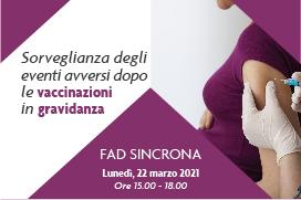Course Image Sorveglianza degli eventi avversi dopo le vaccinazioni in gravidanza